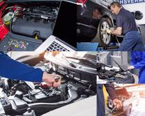 汽车护理与维修摄影高清图片