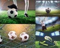 足球與比賽攝影高清圖片