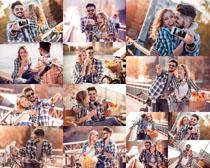 快乐情侣人物拍摄高清图片