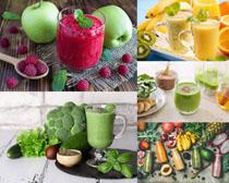 水果蔬菜果汁摄影高清图片