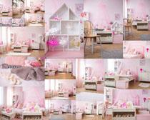 女孩房間家居攝影高清圖片