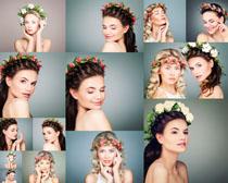 美丽欧美女子摄影高清图片