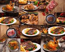 餐厅牛排食物摄影高清图片