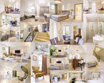別墅室內裝修風格攝影高清圖片