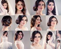 欧美新娘装扮摄影高清图片