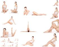身材肌肤女子摄影高清图片