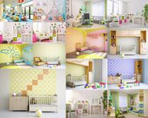 儿童室内设计风格摄影高清图片