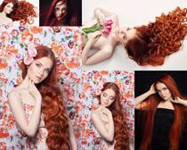 红头发欧美美女写真摄影高清图片