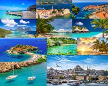 海岛风光建筑摄影高清图片