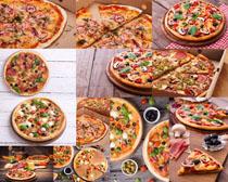 美食披萨展示拍摄高清图片