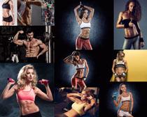 健身男女肌肉写真摄影高清图片