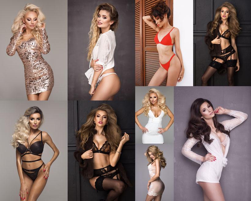 性感内衣模特美女摄影高清图片