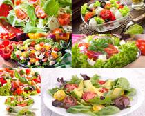食物蔬菜沙拉摄影高清图片