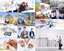 国外房屋工程师摄影高清图片
