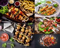 BBQ食物烧烤摄影高清图片