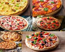 披萨各类展示摄影高清图片