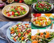 小炒菜食物摄影高清图片