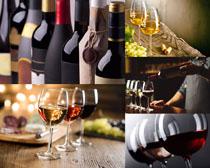 高档红葡萄酒拍摄高清图片