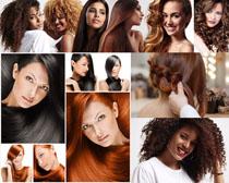 时尚发型美女展示摄影高清图片