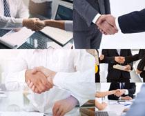 合作与握手商务人士摄影时时彩娱乐网站