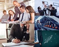现代商务团队人士摄影高清图片