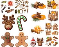 圣诞节可爱食物摄影高清图片