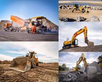挖土机工具摄影高清图片