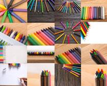 文化彩色筆攝影高清圖片