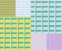 色彩格子背景图高清图片