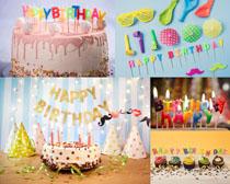 节日生日蛋糕拍摄高清图片