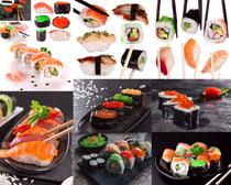 日本寿司食物拍摄高清图片