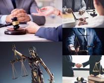 律师人物讨论摄影高清图片