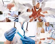医生团队职业人物摄影高清图片