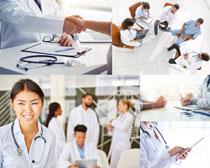 国外职业优秀医生摄影高清图片