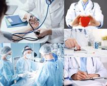 国外爱心医生摄影高清图片