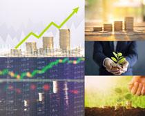 金融货币商务摄影高清图片