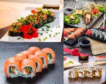 日本美食寿司拍摄高清图片