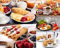 面包水果与早餐摄影高清图片