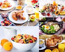 水果面包鸡蛋饮料食物摄影高清图片