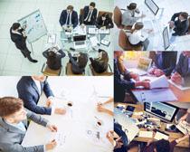 办公室会议人士摄影高清图片