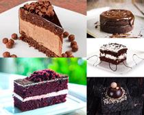 甜品巧克力蛋糕摄影高清图片