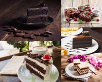 巧克力甜品蛋糕美食摄影高清图片