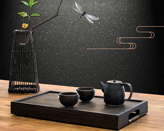 茶道中国风PSD素材