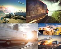 大型货车运输摄影高清图片