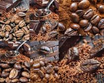 咖啡果食材摄影高清图片