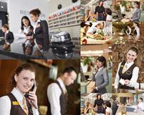 酒店工作人物摄影高清图片