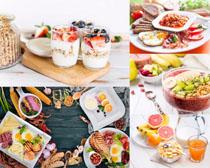 营养早餐食物摄影高清图片