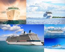 大型轮船摄影高清图片