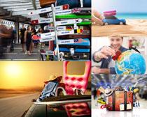 环球旅游人物摄影高清图片