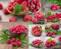 树莓水果摄影高清图片